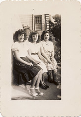 Linda, Loretta and Olga 1948