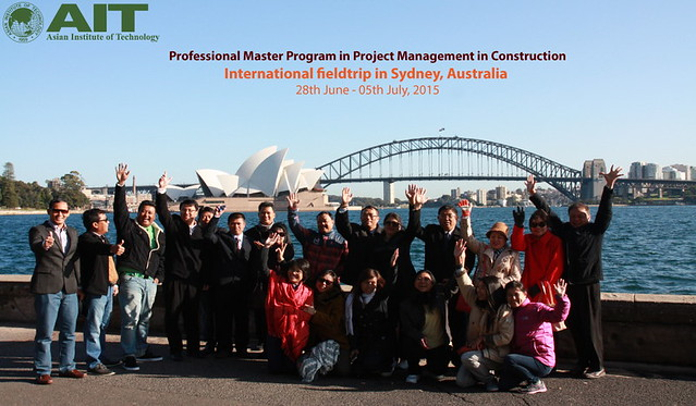 group photo in Sydney