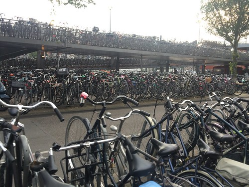 Bike parking, Amsterdam