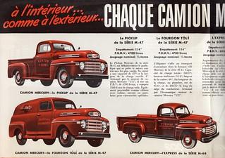 1949 Mercury Trucks (Canada)