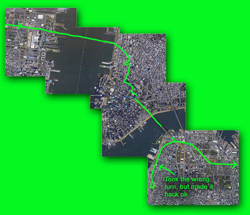 My route through NYC