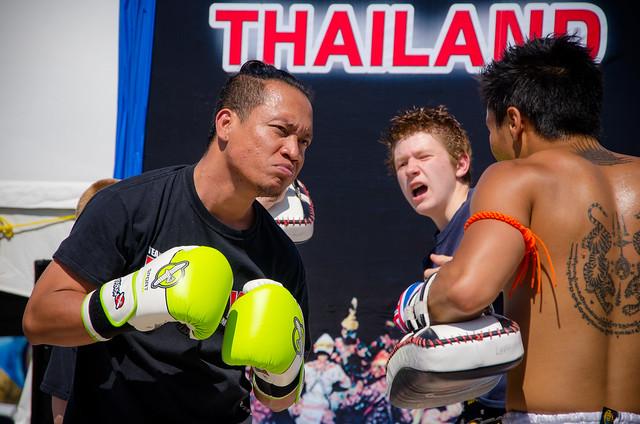 Muay Thai Demonstration