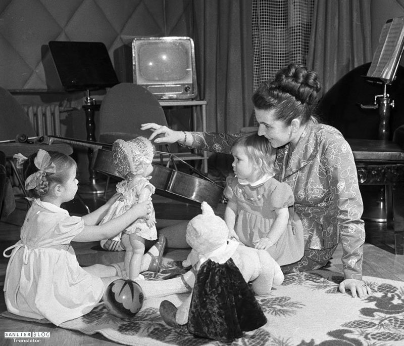 苏联名人家庭照片04
