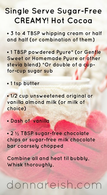 Single Serve Sugar-Free Hot Cocoa