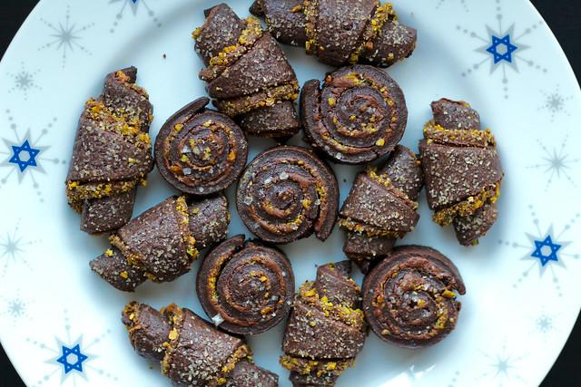 Chocolate Pistachio Rugelach - 28
