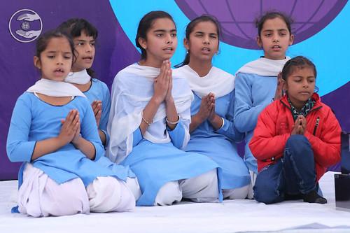 Devotional song by Bal Sewadal Bazpur, Uttarakhand