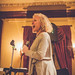 Jackie Allen at The Ferguson House for Soup & Songs February 12, 2017. Photo by Sarah Lemke