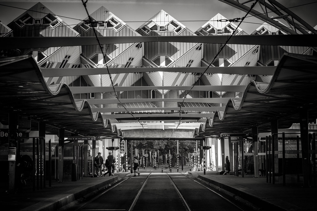 Rotterdam Tram Station