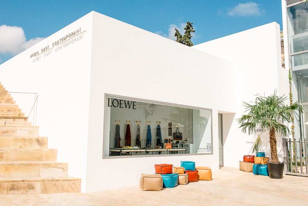Loewe Ibiza Pop Up Store at the MACE Museum Ibiza
