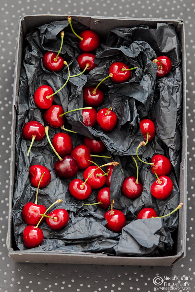 Cherry on Black-0028 by Meeta K. Wolff