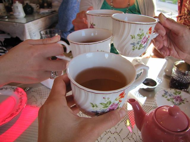Teatime at The White Hart