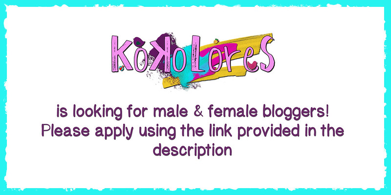 [KoKoLoReS] is looking for bloggers!