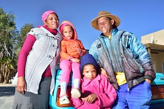 People of Askham, Askham, Northern Cape, South Africa