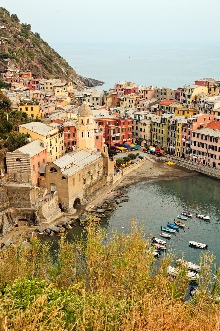 Hiking Cinque Terre Towns.