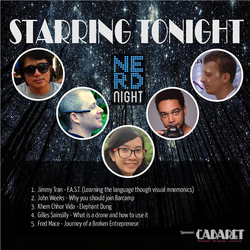 Nerd Night Phnom Penh