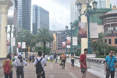 Looking down the strip of Cotai