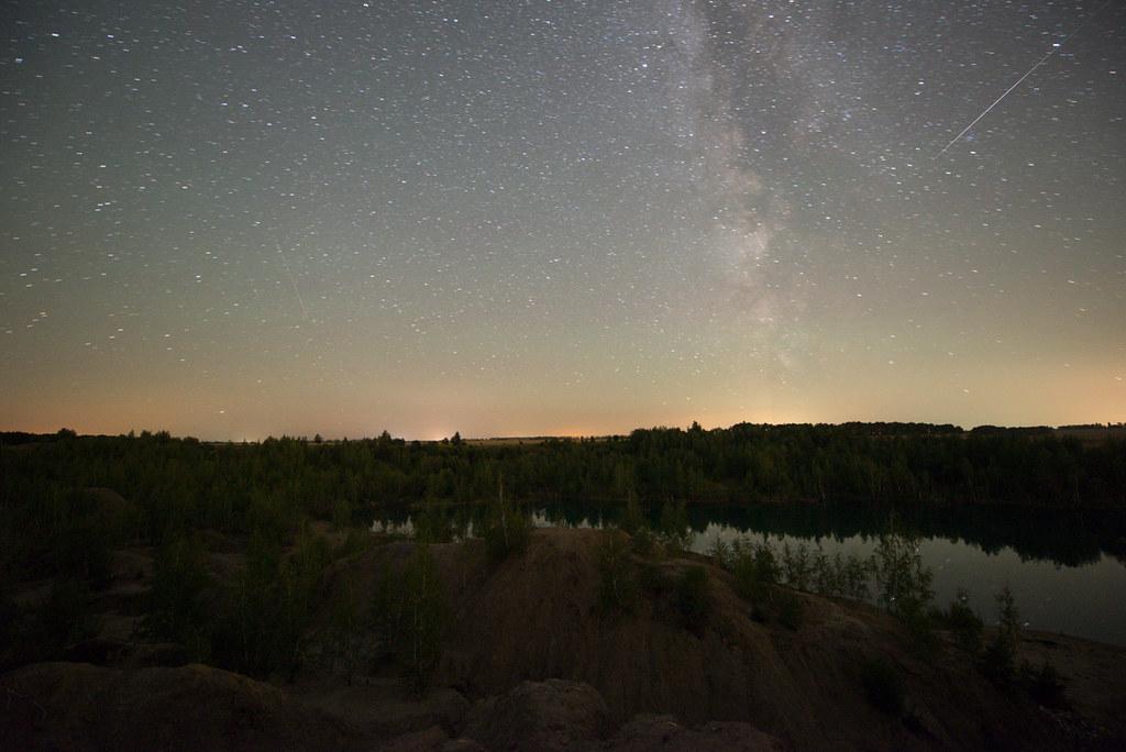 как сфотографировать млечный путь с земли что, нравится