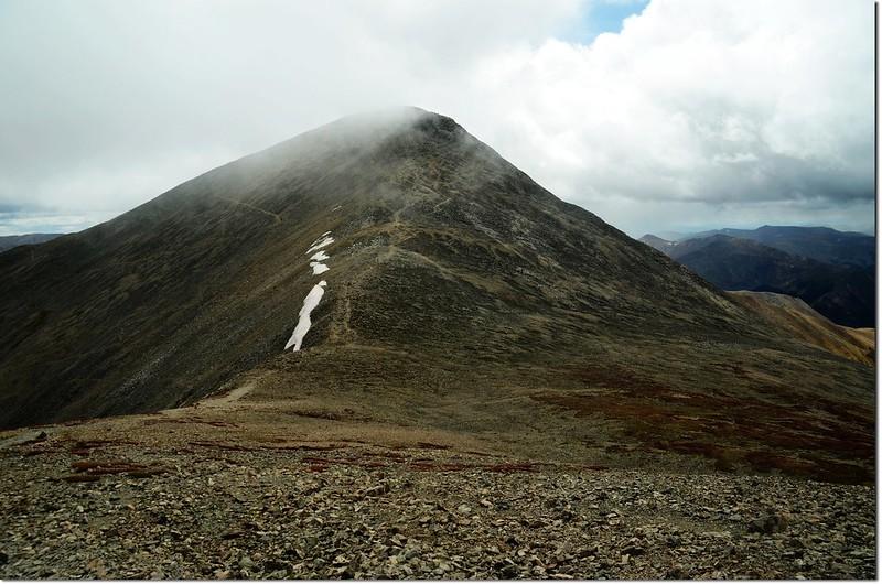 Grays Peak from Torreys Peak south slope