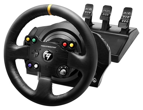 TX Racing Wheel Leather Edition Package
