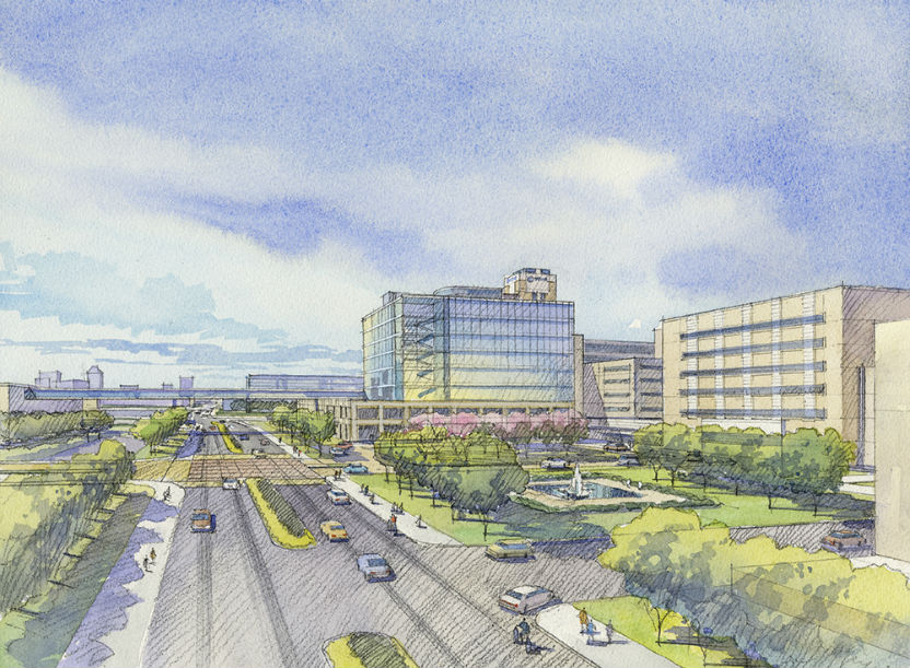 for major development projects in indianapolis and bloomington