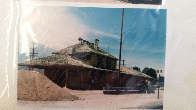 Fernley Depot Before the Move