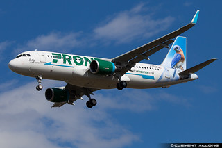 Frontier Airlines Airbus A320-214(WL) cn 6773 F-WWDN // N230FR