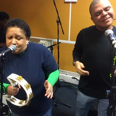 ESG perform live in session on The deXter Bentley Hello GoodBye Show on Resonance 104.4 FM in Central London on Saturday 26th September 2015