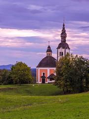 Church of Holy Trinity at Vinji vrh pri Semiču