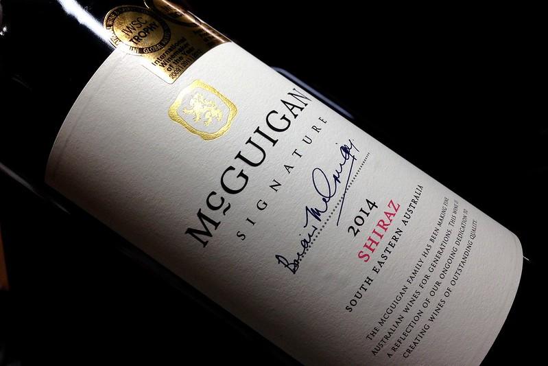 McGuigan signature 2014 Shiraz 澳洲 麥格根信念 希哈紅葡萄酒