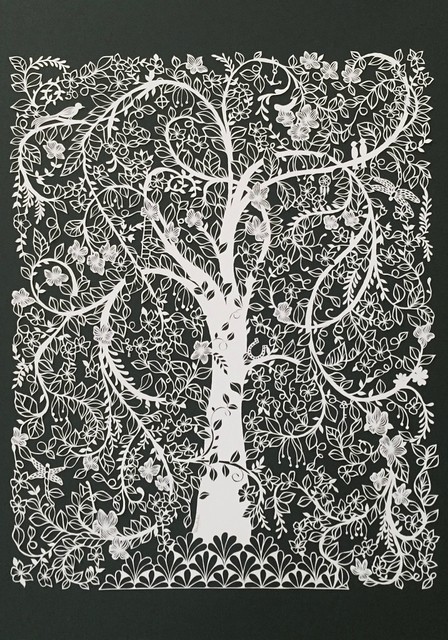 Tree of Life Paper Cutting
