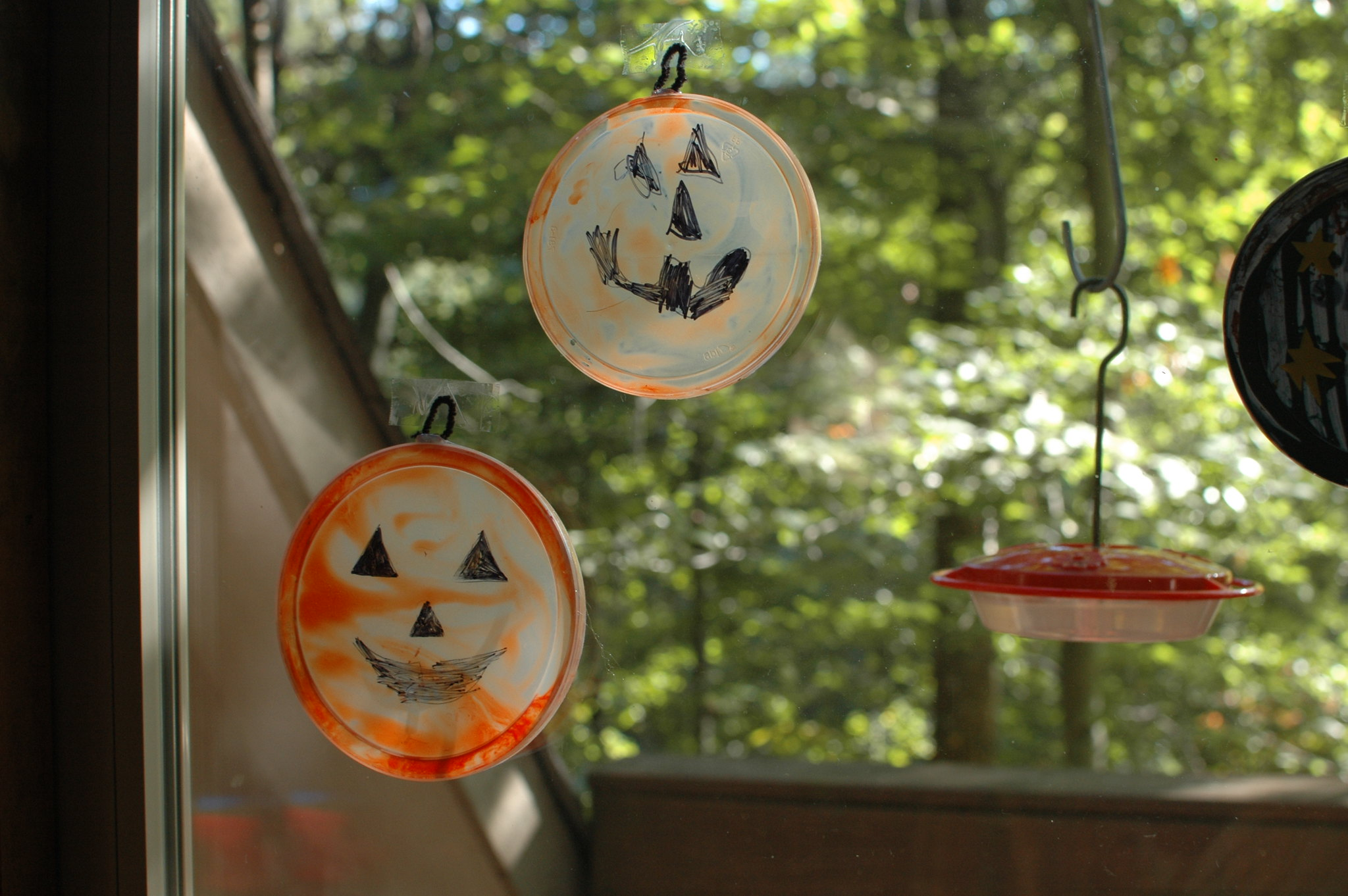Pumpkin Suncatchers | Freshly Planted