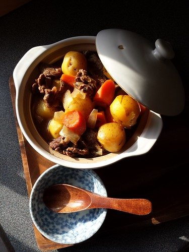Nikujaga: Japanese Beef Potato Stew