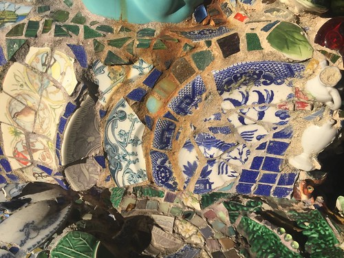 Mosaic Sculpture at the Joan Mitchell Center, Bayou Road