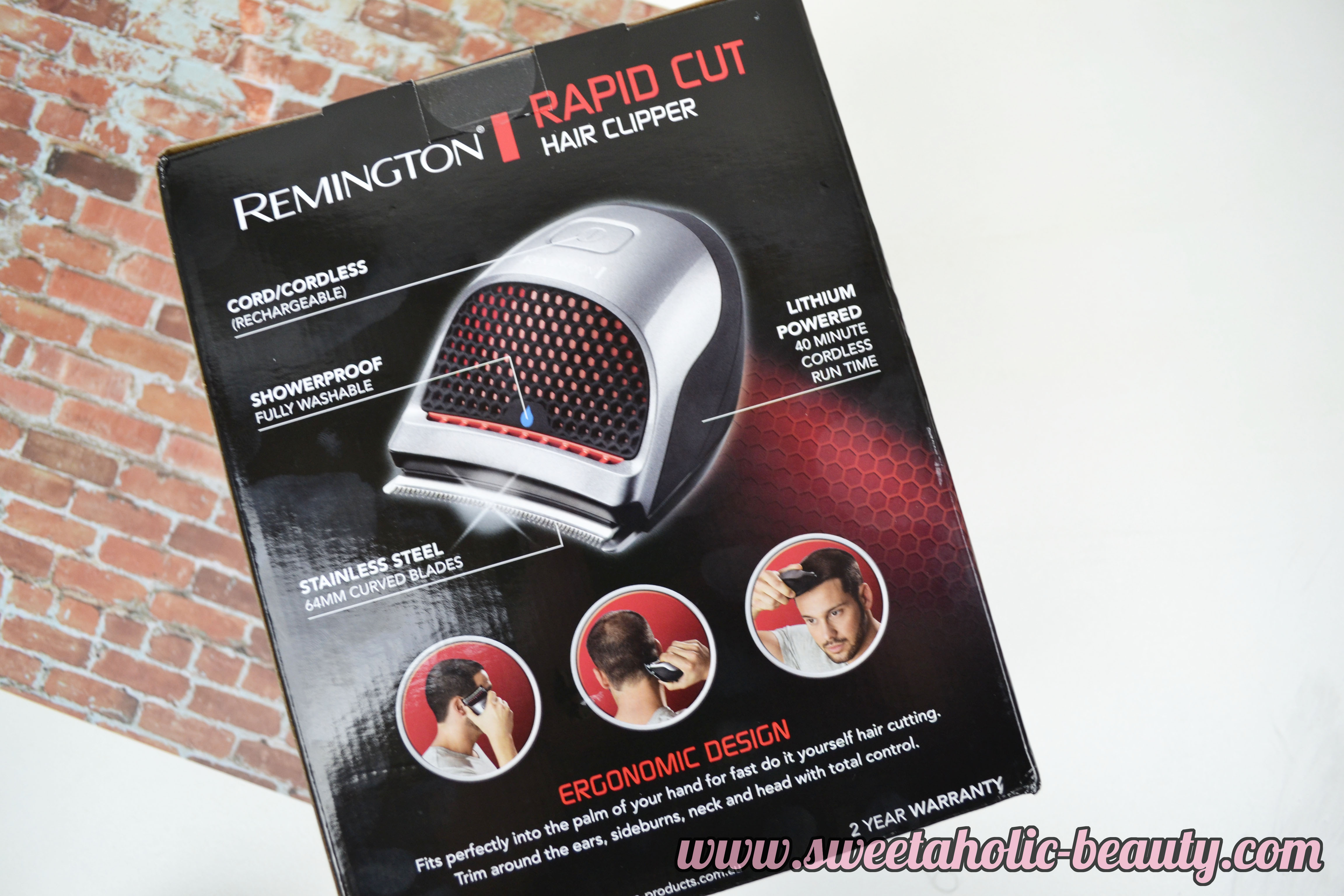 Remington Rapid Cut Hair Clipper Review - Sweetaholic Beauty