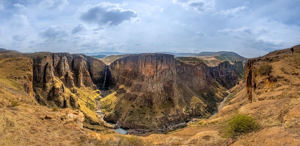 Maletsunyane Falls - Lesotho