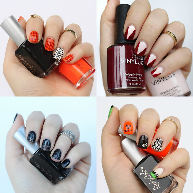 4 Halloween DIY Manicures | Nail Art