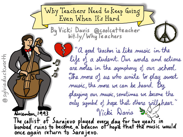 Why Teachers Need to Keep Going