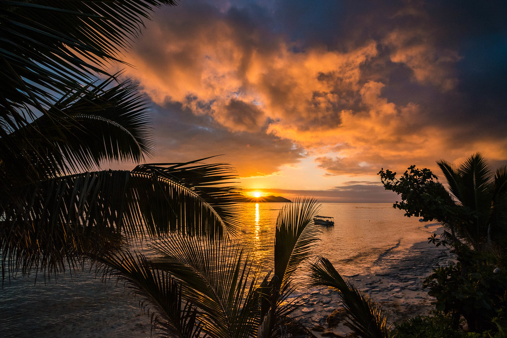 Sunset on Tokoriki Island, Fiji