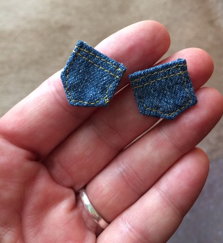Pockets for a tiny pair of jeans.