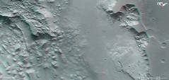 3D-Bild des westlichen Teils von Aurorae Chaos