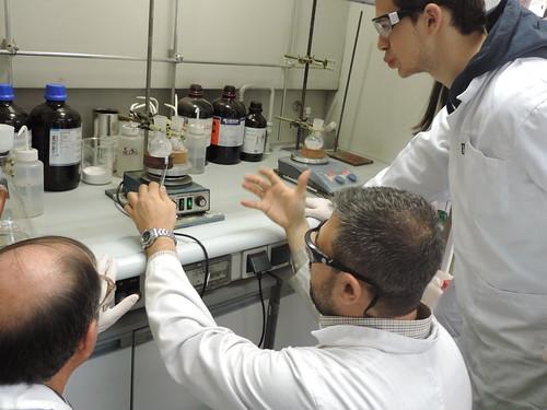 """2015. Actividades de la Semana de la Ciencia en Centro de Química Orgánica """"Lora-Tamayo"""" (CENQUIOR - CSIC)"""