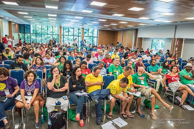 Cerca de 300 delegados participaron en la actividad - Créditos: Lidyane Ponciano