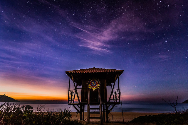 Starry Night at the beach