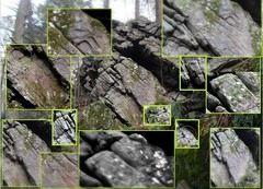 Native American HUGE Cliff Carvings, Prehistory Effigies Couple And Family In Pennsylvania