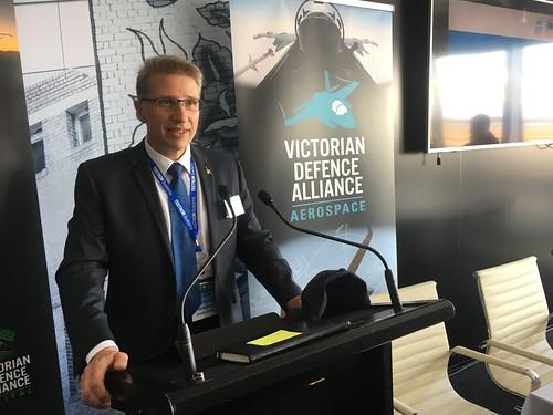 Jack Kormas VDA Aerospace Alliance Chair.