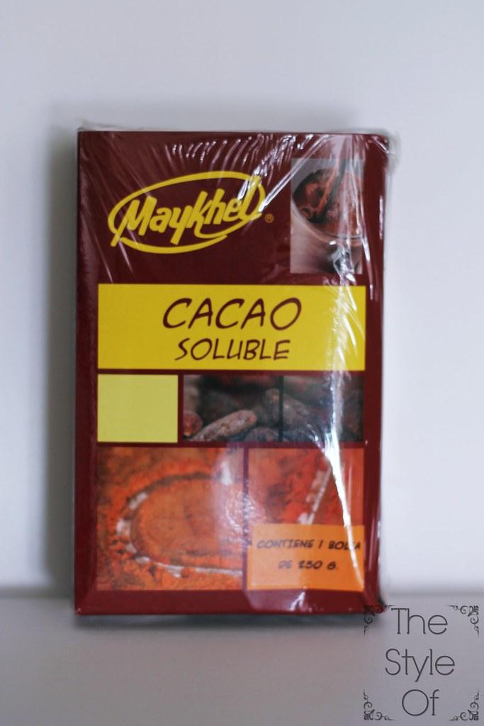 cacao sin lactosa ni gluten