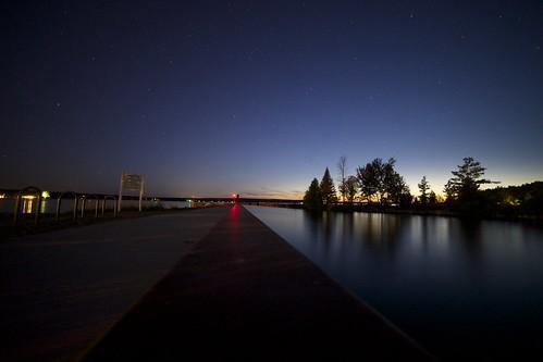 county twilight michigan indianriver cheboygan northernmichigan burtlake