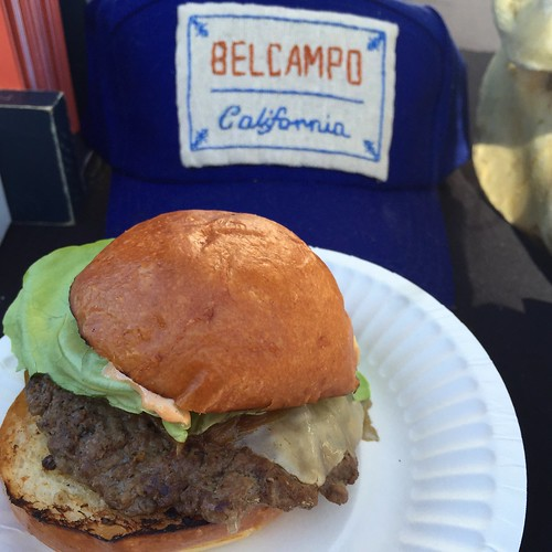 Belcampo Meat Co. at LA Weekly's Burgers and Beer