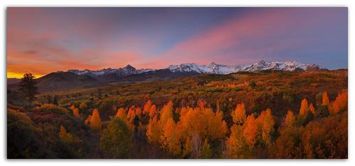 mountains fall colorado now sanjuanmountains ridgeway dallasdivide