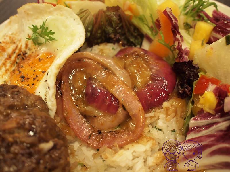 35 樂子美式餐廳(南港店) 夏威夷漢堡排飯
